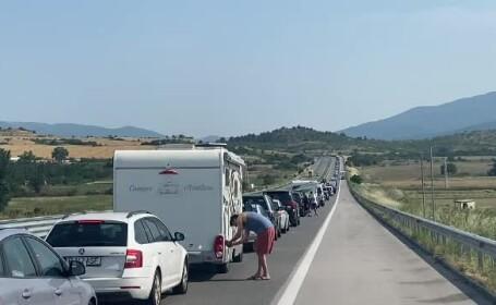 """Nervi întinși la maximum pentru românii care au ajuns în Grecia: """"Am avansat 1 kilometru în 2 ore"""""""