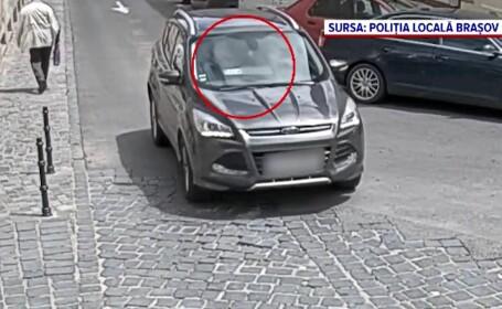Inventivitate fără margini a unor șoferi din Brașov. Cum fentau o barieră inteligentă