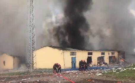 Explozie la o fabrică de artificii din Turcia