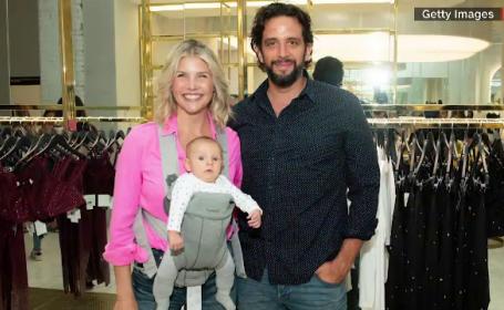 Nick Cordero și familia sa