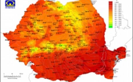 Record istoric de avertizări Cod roşu în România. Cum va fi vremea în iulie și august