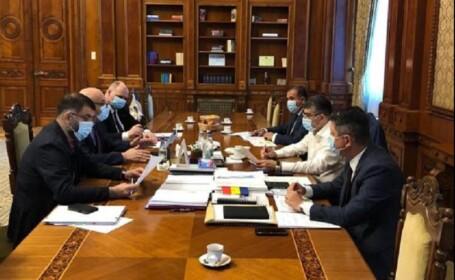 Preşedintele Camerei Deputaţilor, după o întâlnire cu Arafat: Vom da votul pe o lege a carantinării coerentă