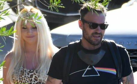Brian Austin Green, atacat de Courtney Stodden