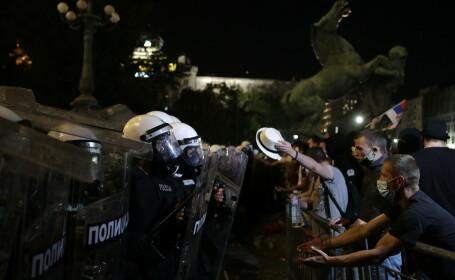 Proteste in Serbia - 7
