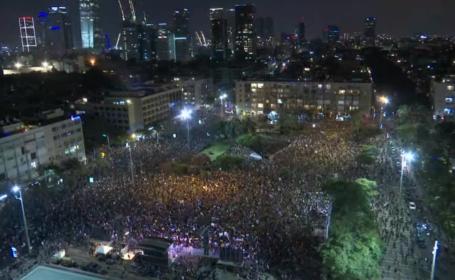 Protest la Tel Aviv
