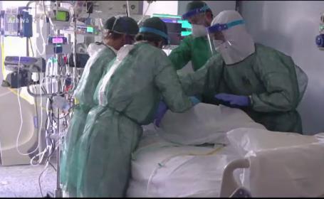 Capitala riscă să rămână fără locuri la terapie intensivă pentru bolnavii de Covid-19