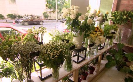Piața florilor, afectată puternic de pandemie. Cum s-au adaptat comercianții
