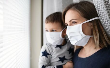 Persoane izolate în pandemie
