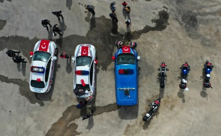 Autobuz al armatei răsturnat în Turcia. Cinci militari morţi şi zece răniţi