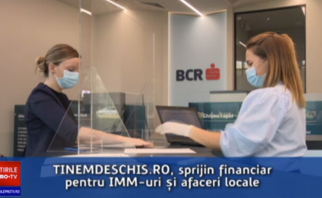 (P) BCR susține afacerile locale și antreprenorii prin platforma Ținem Deschis.ro