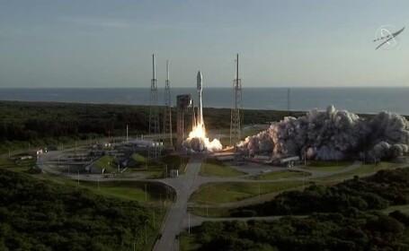 NASA începe o nouă misiune pe Marte. Racheta are probleme tehnice după decolare