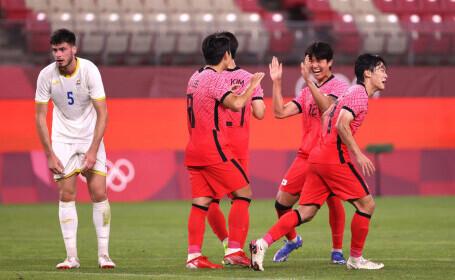 România, învinsă de Coreea de Sud cu 4-0, dar rămâne în cursă pentru sferturi, la Jocurile Olimpice