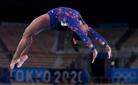 Jocurile Olimpice de la Tokyo. Americanca Simone Biles s-a calificat în toate cele şase finale