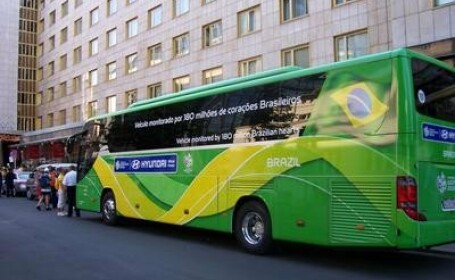 Incident socant intr-un oras din Brazilia: 29 de raniti intr-un autobuz!