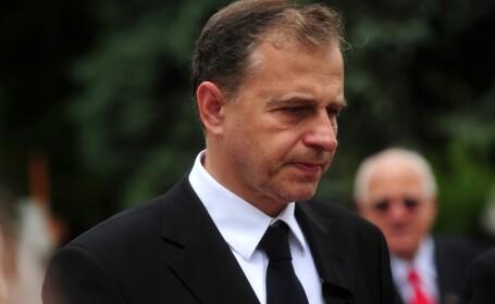 Mircea Geoana, la inmormantarea tatalui sau