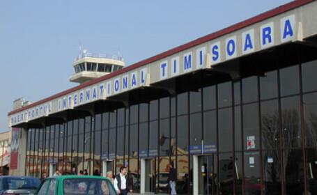 Activitatea pe Aeroportul din Timisoara, intrerupta din cauza cetii,reluata