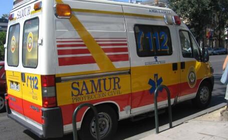 Carnagiu in Spania! Un autocar s-a ciocnit cu un camion!