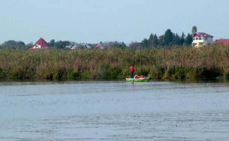 Diguri de aparare impotriva inundatiilor la Snagov, desi nu e cazul