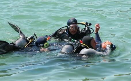 Cautarile celor doi scafandri disparuti in Marea Neagra, sistate