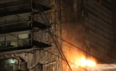 Incendiu cladirea Millenium
