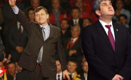 Crin Antonescu si Gabriel Oprea