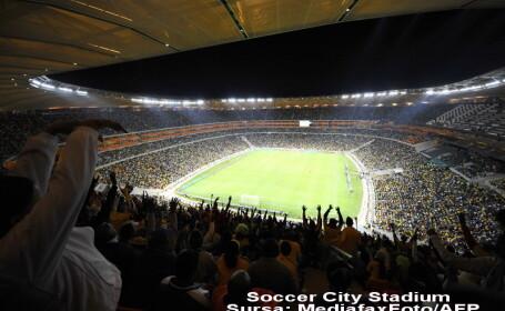 Explozie langa un stadion din Johannesburg