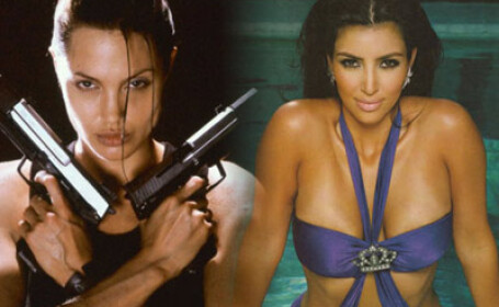 Angelina Jolie, Kim Kardashian