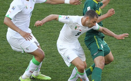 Algeria - Slovenia, scor 0-1, in grupa C la Cupa Mondiala