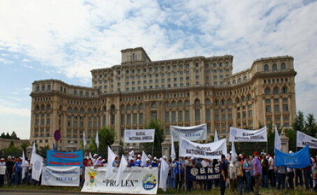Sindicalistii organizeaza un miting pe 7 octombrie, in Capitala