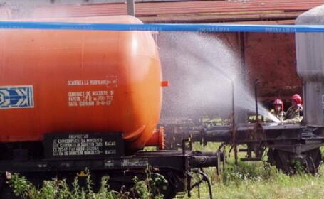 Pericol explozie vagon cisterna