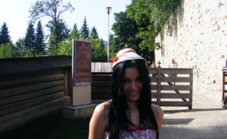 Corina Caragea a facut turul manastirilor din Moldova