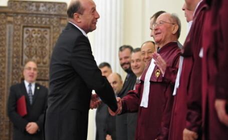 Traian Basescu la Curtea Constitutionala