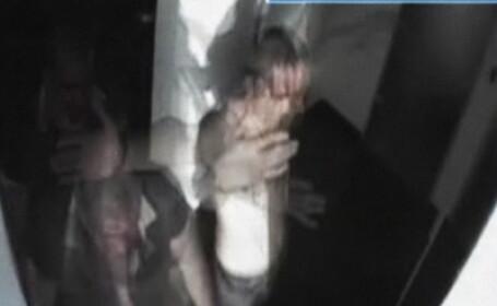 Imaginile cu Tinu Veresezan agresat au ajuns la politie