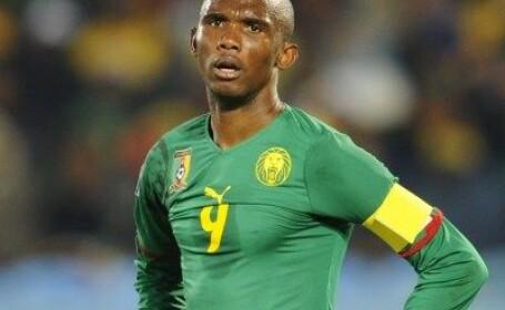 Eto\'o, OUT de la Mondiale! Camerun 1-2 Danemarca!