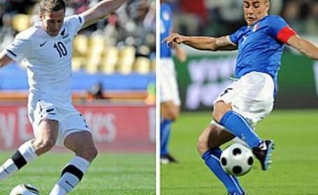Peninsularii s-au facut de ras: Italia 1-1 Noua Zeelanda!
