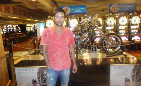 Radu Valcan si-a facut vacanta in Los Angeles si in Las Vegas