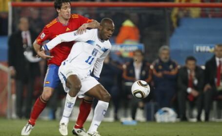Spania - Honduras, scor 2-0, in grupa H a Cupei Mondiale