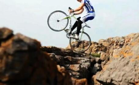 Biciclist offroad