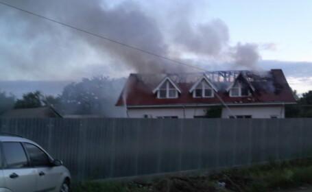 incendiu Harlau
