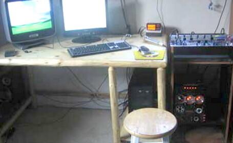 Studio de radio pirat