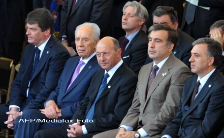 Traian Basescu la Roma, de ziua Italiei