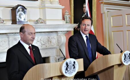 Traian Basescu, David Cameron