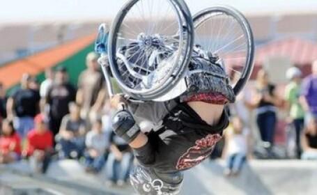 Star in SPORT EXTREM, din scaunul de invalid! Afla povestea lui Wheelz! FOTO si VIDEO