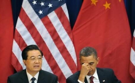 Hu Jintao si Barrack Obama