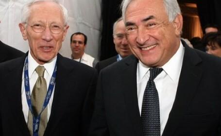 Stanley Fischer si Dominique Strauss-Kahn