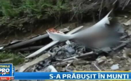 Trei femei, un pilot: accident sau sinucidere? Dosarul avionului prabusit in muntii Sureanu