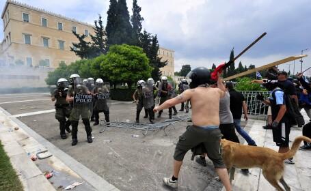 greva in Grecia
