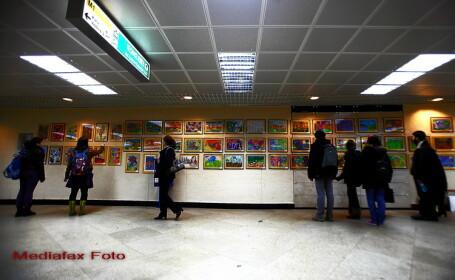 Expozitie dedicata Holocaustului, disparuta misterios dintr-o statie de metrou din Romania