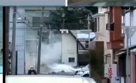 VIDEO: De la liniste totala la fuga din calea mortii. Imagini nemaivazute cu tsunami-ul din Japonia