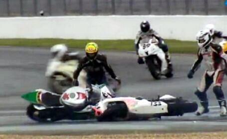 Accident motociclete